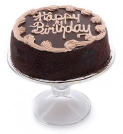 Chocolate Fudge Birthday Cake - 7 inch.