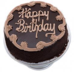 Chocolate Fudge Birthday Cake - 10 inch.