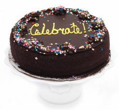 Celebration Cake - 10 inch.