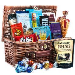 Happy Birthday Ultimate Chocolate Basket