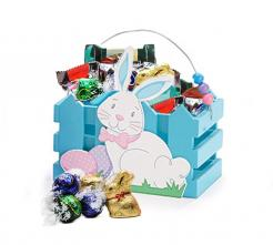 Blue Easter Bunny Crate