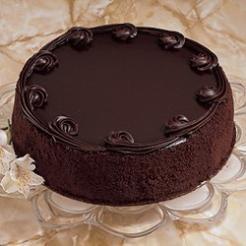Chocolate Satin Cake