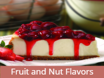 Fruit and Nut Flavors
